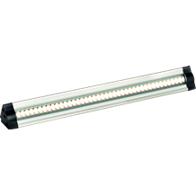 IP20 24V 3W 42 x Warm White LED Triangular Linear Light 3000K