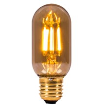 4W LED Vintage Tubular - ES, Amber, 2000K - L110mm