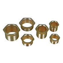 Male Brass Bush Short 25mm