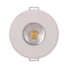 8W Eco Firestay Center Tilt LED Downlight - Dim, P&P, 3 Colour
