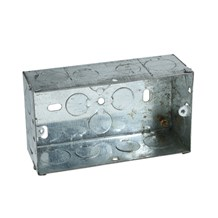Metal Cooker Box 47mm Twin to BS4662