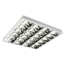 MRBLED6 230V IP20 32W LED CAT2 Recessed Modular Fitting 600x600mm 6000K