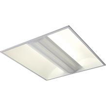 230V IP20 2x55W PL HF Perforated Panel Fluorescent Modular Fitting 600x600mm