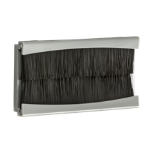 NETBR4GGY Brush Module 100 x 50mm - Grey