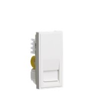 Telephone Master Outlet Module 25 x 50mm (IDC) - White