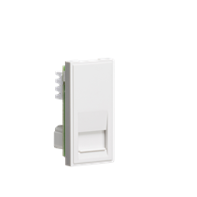 Telephone Secondary Outlet Module 25 x 50mm (IDC) - White