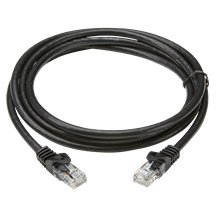 10m UTP CAT6 Networking Cable - Black