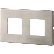 S/S RECESSED LED WALL LIGHT - TWIN WHITE