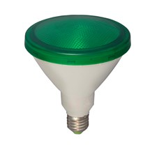 15W LED PAR 38 External - ES, Green