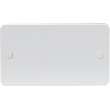 PURE DOUBLE BLANKING PLATE - 9MM
