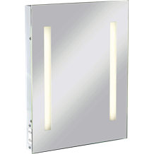 RCTM2T8 IP44 Rectangular Mirror with Dual Voltage Shaver Socket