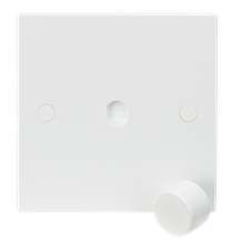 1G Plate with Dimmer Cap