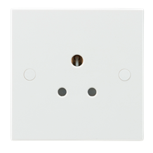 5A Unswitched Round Pin Socket