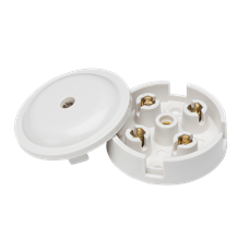 SN8400 5A Junction Box 4-Terminal - White (59mm)