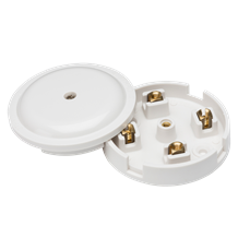 20A Junction Box 4-Terminal - White (79mm)