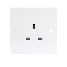 13A 1G Unswitched Socket