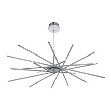 Swerly Chrome 20 Light Fitting With Spoke Design
