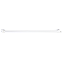 IP20 20W T4 Fluorescent Fitting with Tube, Switch and Diffuser 4000K