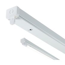 230V T8 Single LED-Ready Batten Fitting 1525mm (5ft) (without a ballast or drive