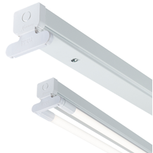 T8LB24 230V T8 Twin LED-Ready Batten Fitting 1225mm (4ft) (without a ballast or