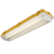110V IP65 2x18W HF Twin Non-Corrosive Emergency Fluorescent Fitting