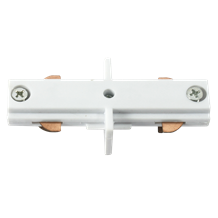 TRKLCW 230V Track In-line Connector White
