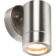 WALL1L 230V IP65 Lightweight Stainless Steel Fixed GU10 35W Fitting
