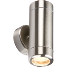 WALL2 230V IP65 Stainless Steel Up & Down Light GU10  Fitting