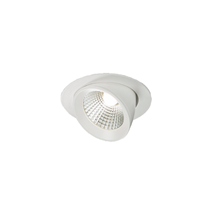 WW15C 230V 15W Round LED Recessed Adjustable Downlight