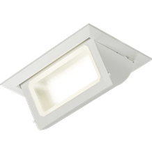 230V 40W Recessed LED Rectangular Wallwasher