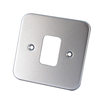 1 Gang Metal Clad Front Plate