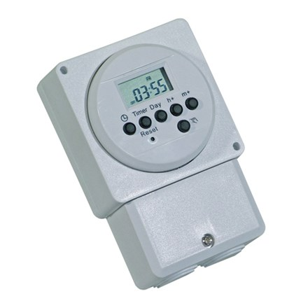 16A (2A) Surface Immersion Heater Timer Electronic 7 Day