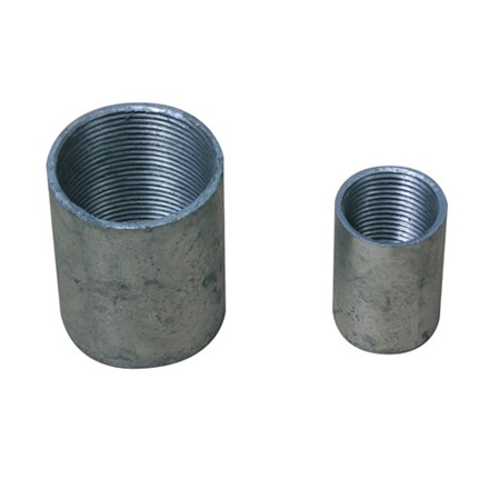 20mm Solid Coupler (Galvanised)