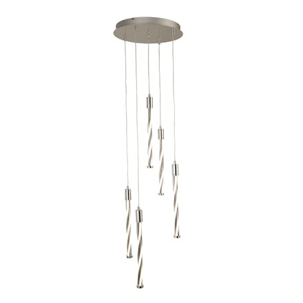 TWISTER 5LT LED MULTI-DROP PENDANT