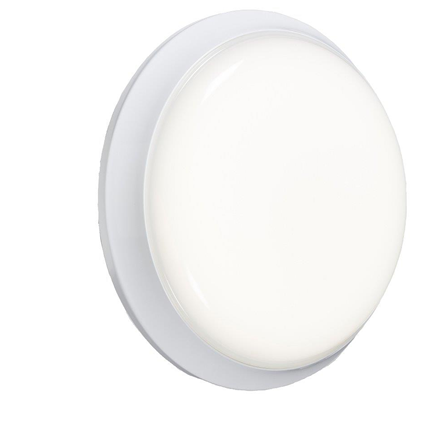 BL12LEDE 230V IP54 12W Round LED Emergency Bulkhead