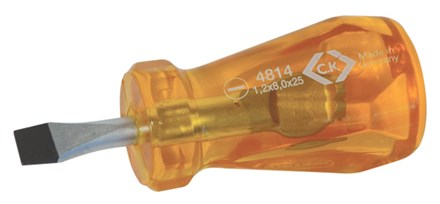 C.K HD Classic Stubby Screwdriver Slotted 8x25mm