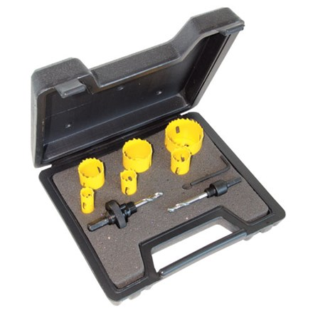 C.K Hole Saw Kit For Electricians 9 Piece