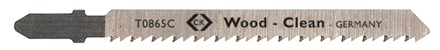 C.K Jigsaw Blades For Wood Card Of 5