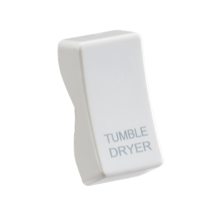 """CUDRY Rocker cover printed """"TUMBLE DRYER"""""""