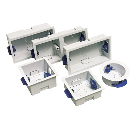 Dry Lining Box 1 Gang 45mm to BS5733
