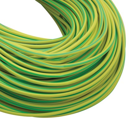 Earth Sleeving 4mm G/Y