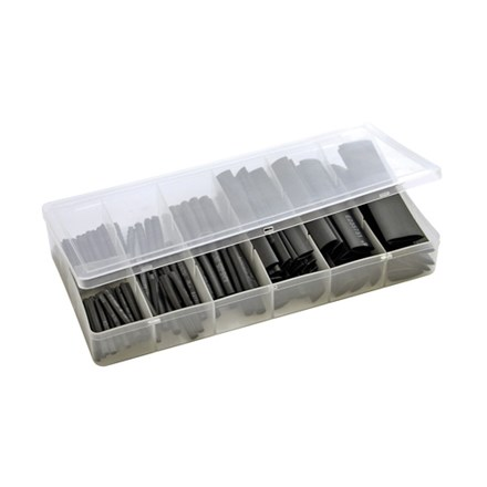 Heat Shrink Kit 2/2.5/5/7/10/13mm Black