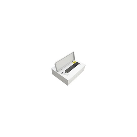 10 Free Way Metal Clad Consumer Unit c/w 80A Dp Rcd As Switch