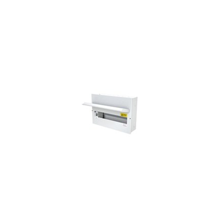 14 Free Way Metal Clad Consumer Unit c/w 100A Switch 2P ISO