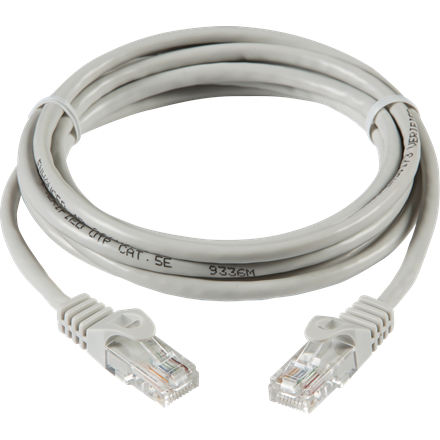 NETC51M 1m UTP CAT5e Networking Cable - Grey