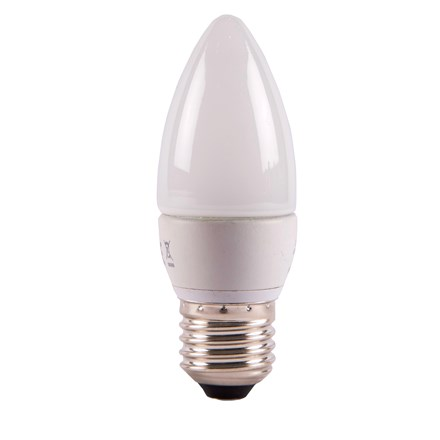7W LED Dimmable Candle Opal - ES, 2700K
