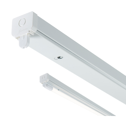 T8LB15 230V T8 Single LED-Ready Batten Fitting 1525mm (5ft) (without a ballast o