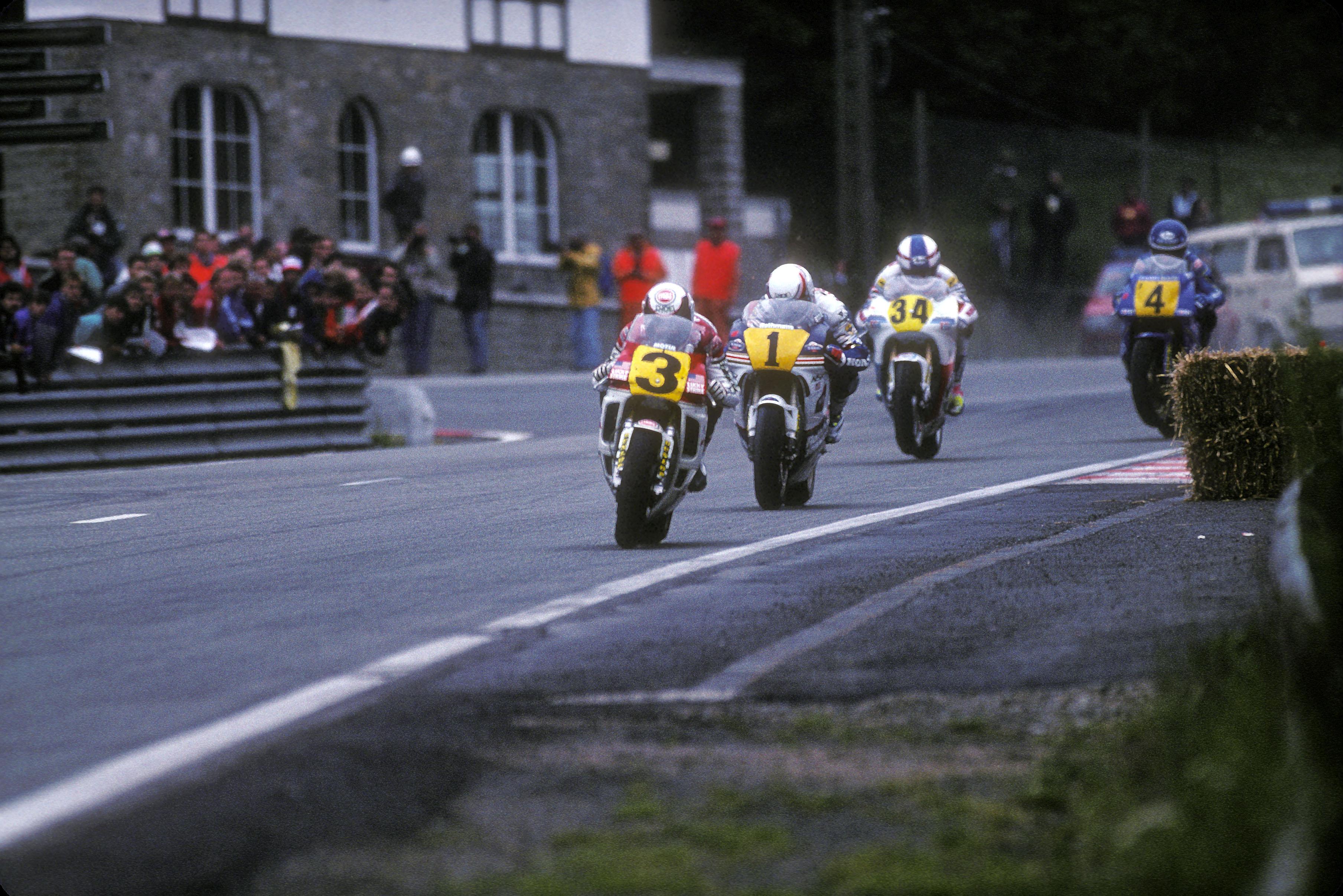 Spa-Francorchamps 500GP MotoGP bikes