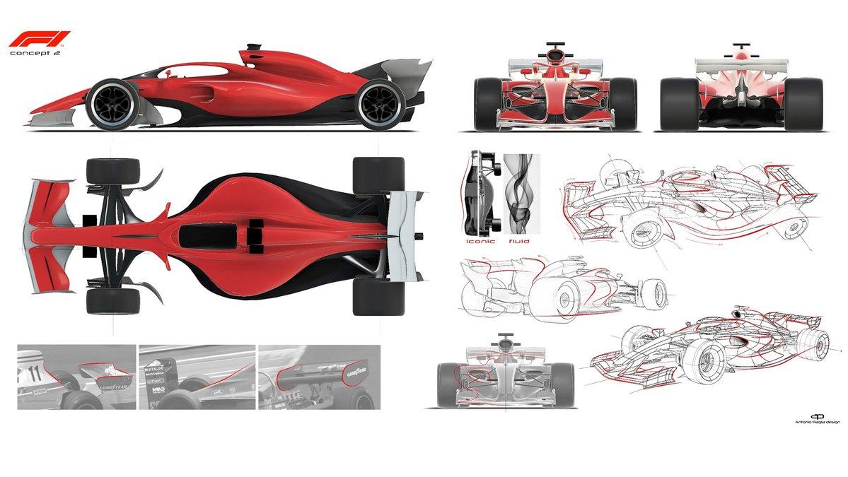 F1 reveals concept car designs for 2021 | F1 | News | Crash