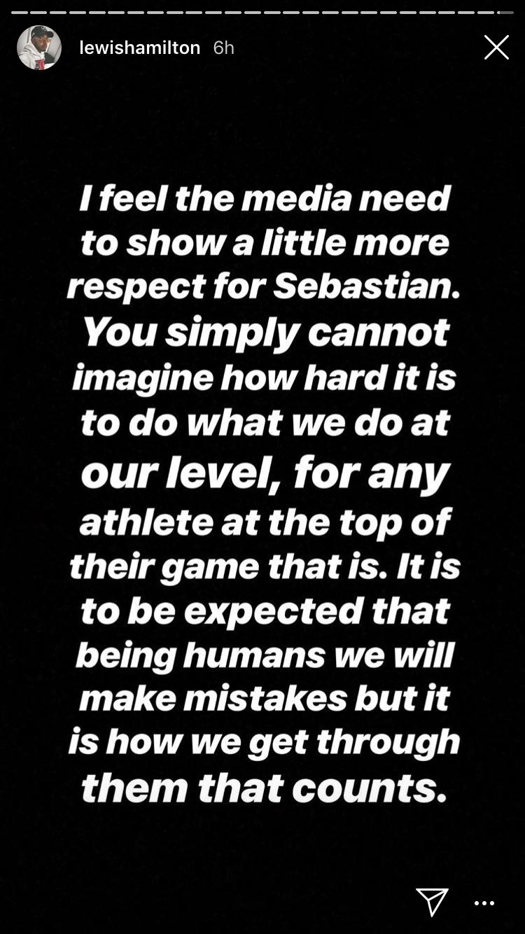 Lewis Hamilton, Instagram,